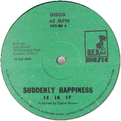SUDDENLY HAPPINESS (VG+) / OOH-OOH (VG+)